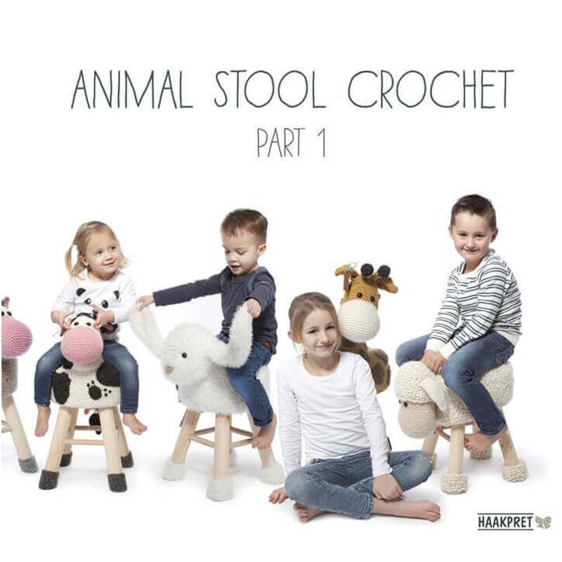 Animal Stool Crochet - Part 1