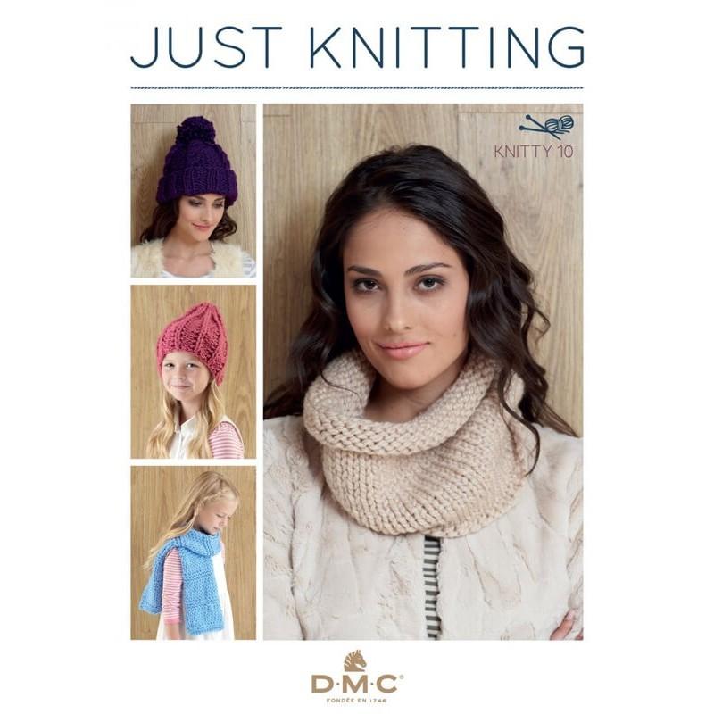 Revista DMC Just Knitting - Knitty 10