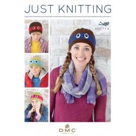 Revista DMC Just Knitting - Knitty 4 - 2017