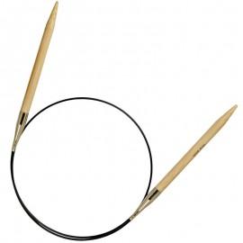 Agujas Circulares de Bambu 80 cm - Prym