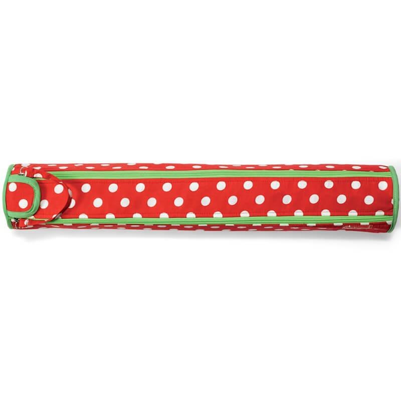 Bolsa Porta Agujas de Tricot Polka Dots Rojo y Blanco - Prym