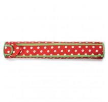 Étui porte-aiguilles à tricoter Polka Dots - Rouge et Blanc de Prym