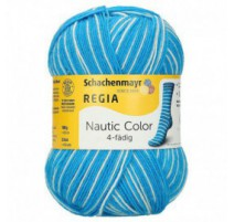 Regia Nautic Color - 4 ply