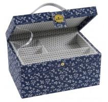 Boîte à Couture DMC - Fleurs Bleues