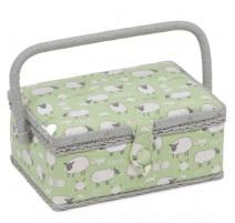 Boîte à couture rectangulaire - Sheep
