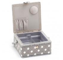 Boîte à Couture – Collection Grey Linen Polka