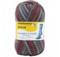 Regia Pairfect Design Line By Arne & Carlos - Mountains & Fjords Color 4-ply