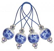 Anneaux marqueurs - Blooming Blue KnitPro