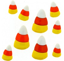 Boutons Candy corn - Dress It Up