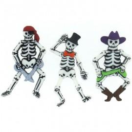 Botones Bone-ified Characters - Dress It Up