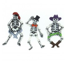 Boutons Bone-ified Characters - Dress It Up
