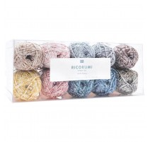 Pack de 10 ovillos colores Spray Ricorumi - Rico Design