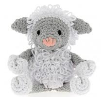Kit crochet amigurumi Agneau Lewy - Hoooked