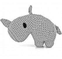 Kit crochet Amigurumi Rhino Dex - Hoooked
