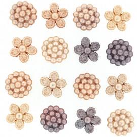 Botones Vintage Pearls - Dress It Up