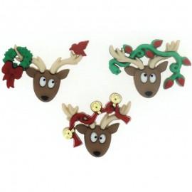 Botones Oh Deer - Dress It Up