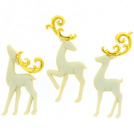 Bouton Majestic Reindeer - Dress It Up
