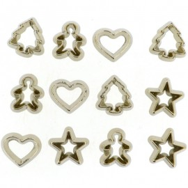 Boutons Mini Cookie Cutters - Dress It Up