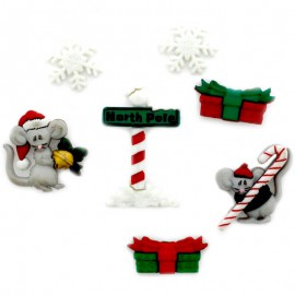 Boutons Not A Creature Was Stirring - Dress It Up