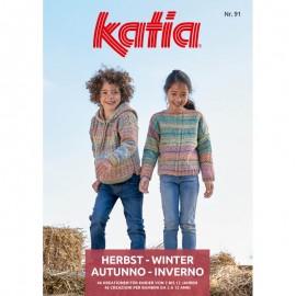 Catalogue Katia Enfants Nº 91 - 2019 - 2020