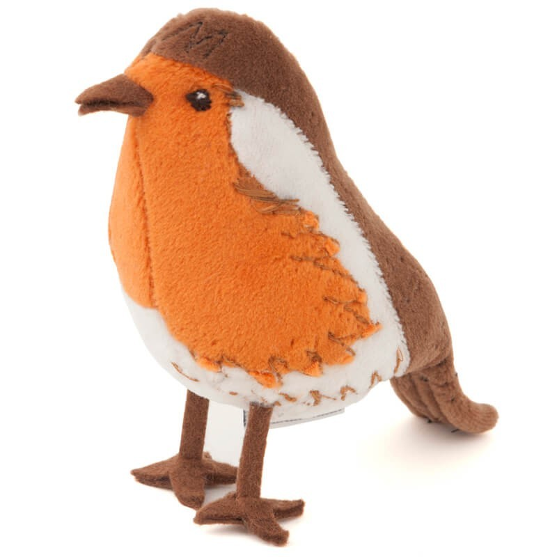 Coussin porte-aiguilles - Robin