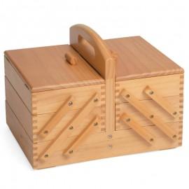 Boîte à couture en bois 3 niveaux - Milward