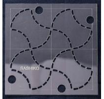 Patron Fondou pour Broderie Sashiko 10,15 cm - Sew Easy