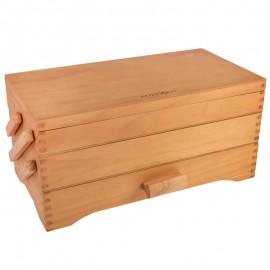 Boite à couture en bois - Pine Wood - Milward