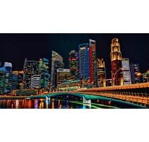 Kit de Bordado con Cuentas - Night City