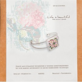 Kit de Micro Bordado Pulsera - Tenderness