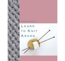 Catalogue Rowan Learn To Knit Arans - Martin Storey