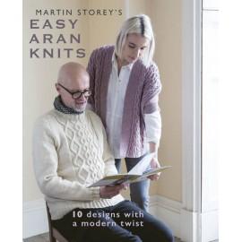 Revista Rowan Easy Aran Knits - Martin Storey s