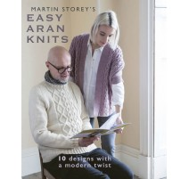 Catalogue Rowan Easy Aran Knits - Martin Storey