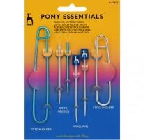 Set d'Accessoires pour le Tricot - Pony