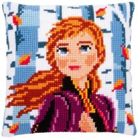 Kit Coussin Point de Croix - Disney - La Reine des Neiges 2 - Anna - Vervaco