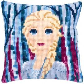 Kit Coussin Point de Croix - Disney - La Reine Des Neiges 2 - Elsa - Vervaco