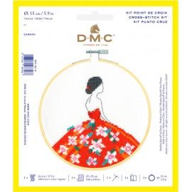 Kit de Point de Croix - Carmen - DMC