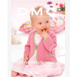 Catalogue DMC Nº 6 Tricot Baby Knitting Yarn Collection - 2017