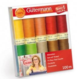 Set de 10 Hilos Coselotodo Duge s Colours - Gutermann