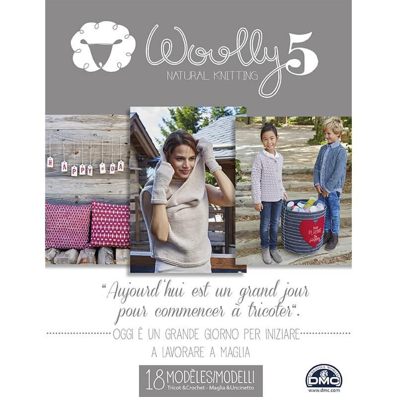 Catalogue DMC Woolly 5 Natural Knitting - 2016