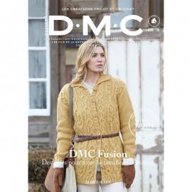 Catalogue DMC Nº 18 Creaciones de Tricot y Crochet Fusion 20 Modeles - 2018
