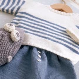 Catalogue DMC Creaciones Baby 14 diseños para tu bebé de 0 a 6 meses