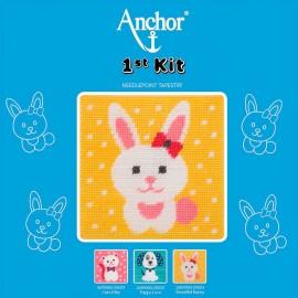 Anchor 1st Kit de Tapisserie - Beautiful Bunny