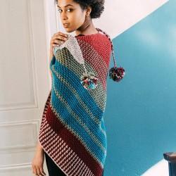 Kit de Crochet Châle...