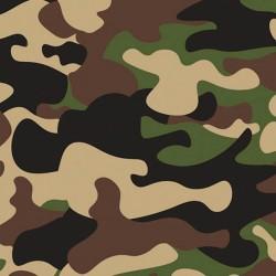 Tissu en Coton - Camouflage