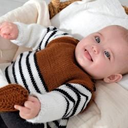 Kit de Tricot Robe Baby...