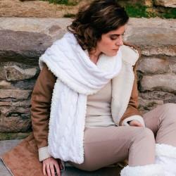 Kit tricot Écharpe Fast &...
