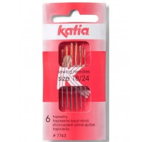 Aiguilles pour Coudre Laine Nº 18-24 Katia