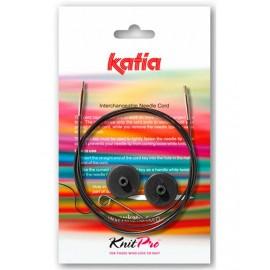 Câbles échangeables pour aiguilles circulaires Katia