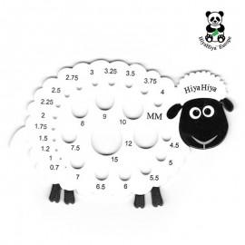 Jauge pour Aiguilles Mouton HiyaHiya